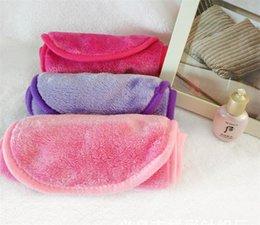 Ingrosso Strumenti Hot Salute Bellezza riutilizzabile in microfibra di pulizia facciale asciugamani di stoffa Makeup Remover Cleansing Beauty Wash