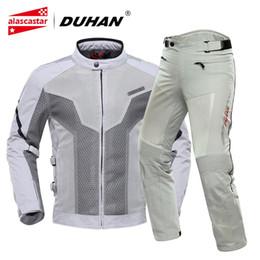$enCountryForm.capitalKeyWord Australia - DUHAN Motorcycle Jacket Men Breathable Motocross Clothing Summer Chaqueta Moto Jacket Riding Motorbike Motorcycle Armor