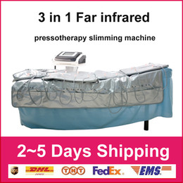pressotherapy slimming machine Canada - Professional Far Infrared Pressotherapy Slimming Machine Presoterapia Pressotherapy Lymphatic Drainage Equipment Machines