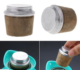 bottles wood cork NZ - 40mm Thermos Plug Bottle Cap Bottom Diameter Wood Thermos Bottle Cork Plug Lid Cap Stopper Kettle Part