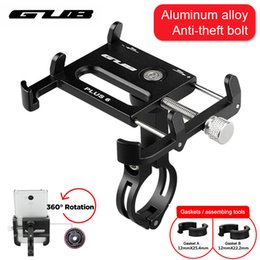 Wholesale Aluminum Bicycle Phone Holder MTB Mountain Road Bike Motorcycle Universal Handlebar Clip Stand for quot to quot Smartphones GPS
