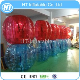 $enCountryForm.capitalKeyWord Australia - Free Shipping 10PCS (5 Red+ 5 Blue +1 Pump)Factory Price Human Inflatable Bumper Ball, Bubble Soccer, Bubble Football for Sale