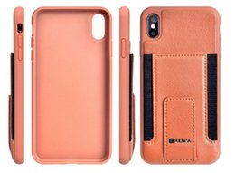 Iphone Navigation Australia - Multifunctional Phone case is suitable for IPHONE XS MAX microfiber patch navigation support with multiple cards