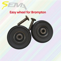 $enCountryForm.capitalKeyWord UK - SEMA easy wheel for Brompton light weight 40g best quality easy wheel for brompton bike plastic hot sale products #80224