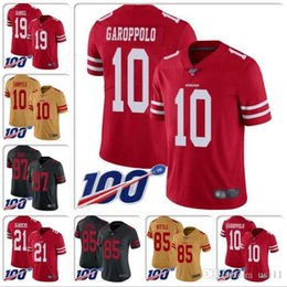 Custom sports jerseys online shopping - Mens Nick Bosa Jersey Joe Montana Steve Young Jerry Rice Ronnie Lott Jalen Hurd Tim Harris custom Cheap football jerseys sports shirts