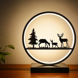 Free Bedside Table Australia - 2019 new Table light for bedroom bedside about remote control dimming circular touch bed light with free shipping