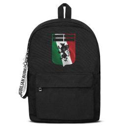 $enCountryForm.capitalKeyWord NZ - Genoa C.F.C.I Rossoblu Il Grifone Flag Free Shipping Women Men Canvas School Student Backpack Waterproof Travel Backpack Printing