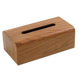 $enCountryForm.capitalKeyWord Australia - Japanese-Style Wooden Tissue Box Household Paper Table Creative Desktop Storage Box Simple Fashion Living Room Tissue