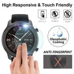$enCountryForm.capitalKeyWord Australia - 2019 new fashion 3Pack 5Pack Explosion-proof TPU Screen Protector Film For AMAZFIT GTR Smart Watch 42mm 47mm Purchasing