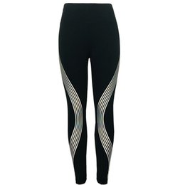 $enCountryForm.capitalKeyWord UK - Neon Rainbow Stripe Leggings Women Fitness Athletic Legging Push-Up Fitness Quick-Dry Stretch Pants #EP