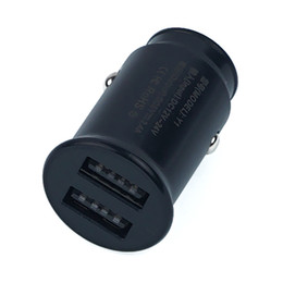 Cell Phone Charger Ports Australia - 2-Pack Dual-Port 2.4A USB Car Charger for Cell Phone