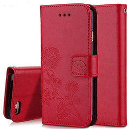 e197bd8a68a 3D Flower Leather Case For Huawei P10 P9 P8 Lite 2017 Mini Honor 5A 6A 6X  7X Y5 II Y3 2017 Nova 2i Mate 10 SE Flip Wallet Cover
