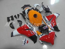 Custom Body Honda Cbr Australia - New ABS motorcycle Full Fairings Kits+Tank cover Fit For HONDA CBR1000RR 08 11 2008 2011 CBR 1000RR body set custom bike Fairing orange red