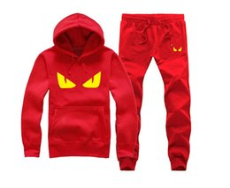 mens sports suits UK - Brand New Men Sets Fashion Sporting Suit Sweatshirt +Sweatpants Mens Clothing 2 Pieces Sets Slim Tracksuit T13