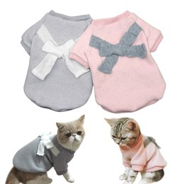 Wholesale Cute Dog Cat Puppy Clothes Pet Chihuahua Pug Dog Clothing Coat For Small Medium Dogs Cats Schnauzer Pomeranian Costume XS XL