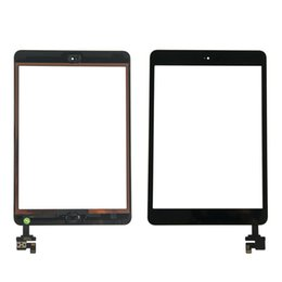 Camera Ic Chip Australia - OEM original Touch Screen For iPad mini 1 mini 2 Digitizer Glasss Panel+IC Chip+Home Button+Adhesive+Camera Bracket DHL Free