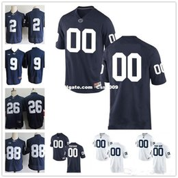 $enCountryForm.capitalKeyWord Australia - Custom Penn State Nittany Lions College Football Limited white Navy Blue Men Personalized Stitched Any Name Number 26 9 2 88 Jerseys XS-5XL
