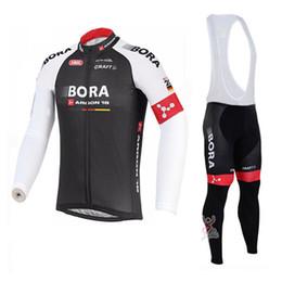 SuitS cycling jerSey long Sleeve online shopping - 2019 BORA Men Cycling Clothing Ropa Ciclismo Bike Jersey Set Long Sleeve Cycling Jersey d Gel Pad Bike bib Pants Suit