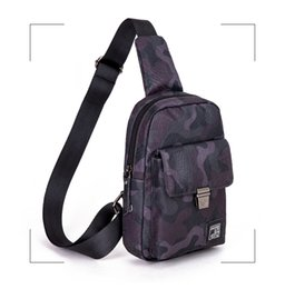 $enCountryForm.capitalKeyWord NZ - Crossbody Bag for Men Messenger Chest Bag Pack Casual Bag Waterproof Nylon Single Shoulder Strap Pack 2018 New
