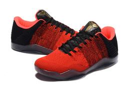 2998da21b7b 2019 news sale High Quality Kobe 11XI Elite Men Basketball Shoes Red Horse  Sneaker KB 11s Mens Trainers Sports Sneakers LZDBOSS