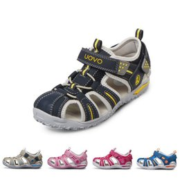 $enCountryForm.capitalKeyWord Australia - 2019 Summer Fashion Beach Kids Shoes Closed Toe Sandals For Boys And Girls Designer Toddler Sandals For 4 - 15 Years Old Kids