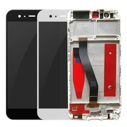 Brand New Touch Screen For Huawei P10 Original LCD Display Digitizer Sensor Assembly with Frame lifttime warranty from jiake phones manufacturers