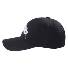 $enCountryForm.capitalKeyWord Australia - 2019 Spring New Brand Kids Cotton Hats Baseball Caps Summer Children's Outdoor Sun Hats for Girls Boys Letters Embroidery Gorras