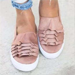 $enCountryForm.capitalKeyWord NZ - Women Designer Shoes Spring Summer Flat Loafers Shoes Fashion Comfortable Slip On Oxfords Sweet Bow Sandals