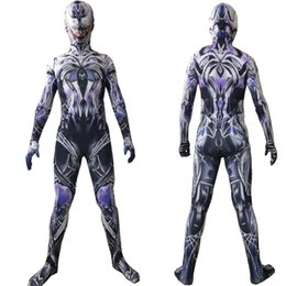 Wholesale cosplay men tights online – Super Hero Cosplay Halloween Spider Man Costume Kids Cosplay Clothing Slim Uniforms Cosplay Tights Party Clothing Bodysuit Long Plus Size