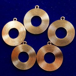 $enCountryForm.capitalKeyWord Australia - 10pcs New Carved Tibet gold ring Pendant bead Trendy Jewelry Women Accessories