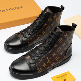 $enCountryForm.capitalKeyWord NZ - Men Shoes Sneakers Breathable 2019 Fashion Trainers Zapatos de hombre TATTOO Match-Up Sneaker Boots Hot Sale Mens Shoes Boots High-Top Style