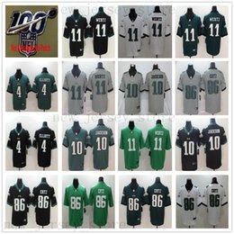 86 shirt online shopping - 100th Inverted Legend Philadelphia Carson Wentz Jersey Eagles Zach Ertz DeSean Jackson Jake Elliott Rush Vapor Football Shirt