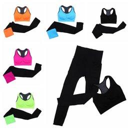 $enCountryForm.capitalKeyWord Canada - Women Yoga Sport Suit Summer Bra Set 2 Piece Female Short-sleeved pants Outdoor Quick Drying Sportswear Running Clothes