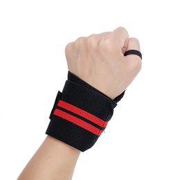 $enCountryForm.capitalKeyWord Australia - wrist bands range Wrist Support Fitness Weight Lifting Straps Bands Bodybuilding Powerlifting etc. - Black Red