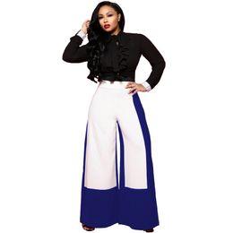 $enCountryForm.capitalKeyWord UK - Harem Pants Women 2019 Trend High Waist Irregular Loose Palazzo Wine Flare Pant Ladies White Elegant OL Style Wide Leg Trousers