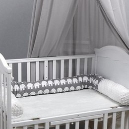 high quality beds UK - High Quality Crib Bumper Safe Washable Baby Bedding Bumper Crib Standard Baby Mattress Lining for Cribs