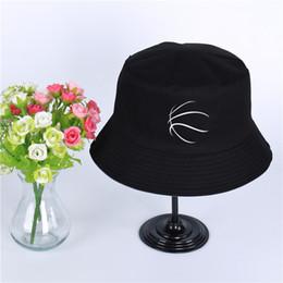 e7f7491042e Basketballer Logo Summer Hat Women Mens Panama Bucket Hat Basketballer Design  Flat Sun Visor Fishing Fisherman Hat