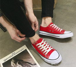 $enCountryForm.capitalKeyWord Australia - HOT Canvas Shoes sneakers Women Men Low Style fashion luxury Classic designer Shoes Casual Canvas Shoe Brand New Factory Promotional Price