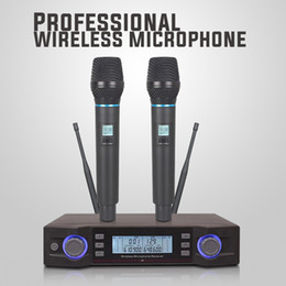 $enCountryForm.capitalKeyWord NZ - MU-59 Best Quality Manufacturer Adjustable Frequency Portable UHF Wireless Microphone for interviwe cell phone condenser Mikrofon Bluetooth