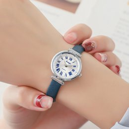 Discount top fashion montre - New Fashion Montre Femme Women Watches Leather Dress Quartz Watch Top Brand Watches for Woman Delicate Clock Bayan Kol S