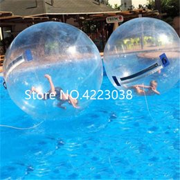 Inflatable Pool Water Walking Balls Australia - Free Shipping 2m Diameter Inflatable Bubble Water Ball,Walk On Inflatable Swimming Pool Watering Ball Inflatable Toys