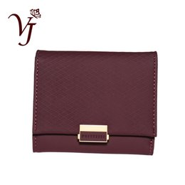 passport wallet zipper change short 2019 - Luxury Wallet Female Leather Women Leather Purse Plaid Wallet Ladies Hot Change Card Holder Coin Small Purses For Girls