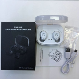 cd7c256bc2d Sport Power Wireless Earphone Australia - X10 TWS Wireless Buletooth headset  5.0 twins Waterproof Buletooth Earphone