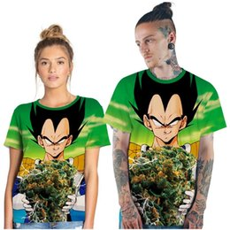 $enCountryForm.capitalKeyWord NZ - Fashion Totoro Series Digital Print Couples T-Shirt Dragon Ball Series Sports Joker Short Sleeve Round Neck Shirt