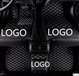 $enCountryForm.capitalKeyWord Australia - Mercedes-Benz SLK 2010-2016 car anti-slip mat luxury surrounded by waterproof leather wear-resistant car floor mat with logo