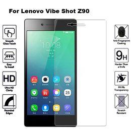 Discount lenovo vibe shot - 2Pcs Tempered Glass For Lenovo Vibe Shot Z90 Screen Protector For Lenovo Z90a40 Tempered Glass Z90 Z90-7 Z90a40 a40