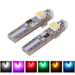 $enCountryForm.capitalKeyWord Australia - 100Pcs Auto LED W2 X 4.6d T5 1210 3 SMD White Crystal Blue 12V 3528 Car Instrument dashboard warning lights signal lamp bulb.