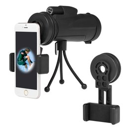 microscope mount 2019 - Cell Phone Smartphone Photography Adapter Mount Bracket Connector for Telescope Monocular Binocular Spotting Scope Micro