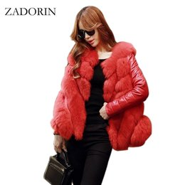 China Plus Size 2019 Winter Fashion Women Luxurious FAUX Fur Coat High Quality Elegant Ladies Fur Jacket Pink White Black Overcoat cheap luxurious faux fur coats suppliers