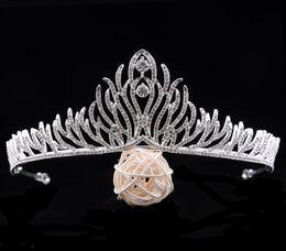 $enCountryForm.capitalKeyWord NZ - Bride Zircon Crown High-end New Diamond Korean Princess Hair Hoop Marriage Festival Accessories